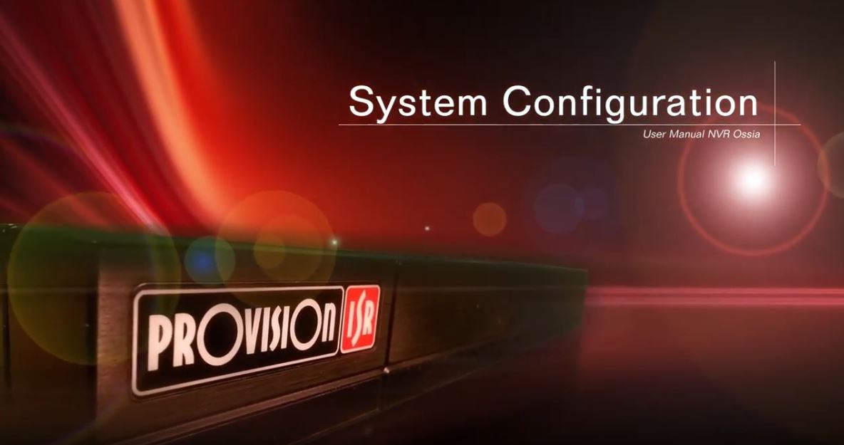 system config